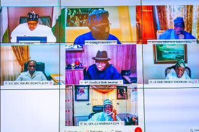 #EndSARS: Inside PMB's parley with former Heads Of State