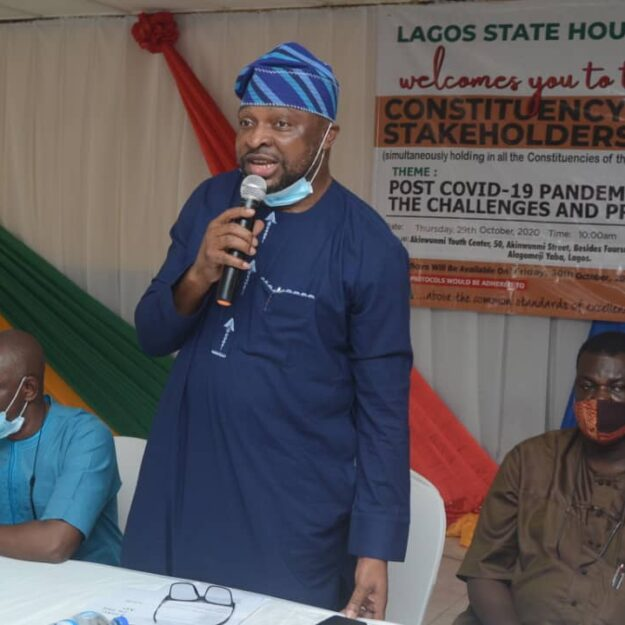 EndSARS: Lawmaker tasks constituents, stakeholders on security