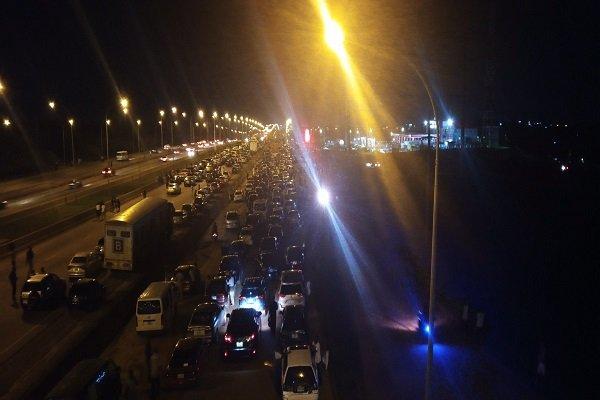 Abuja airport road