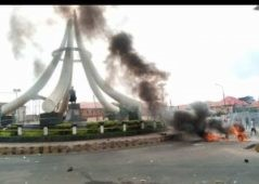 ENDSARS: Protesters destroy Azikwe statue, give reason