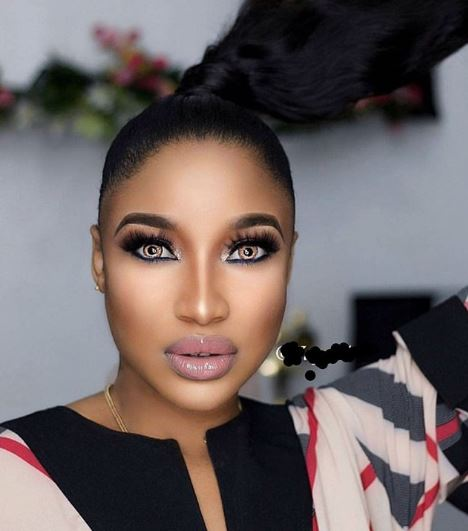 #EndSARs: Tonto Dikeh Blows Hot, Vows to Sue Blogger Over This Malicious Offence