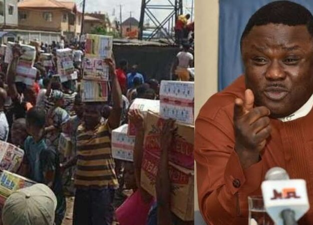 Gov Ayade Orders Police To Carry Out House-To-House Search For Looted Items In Cross River