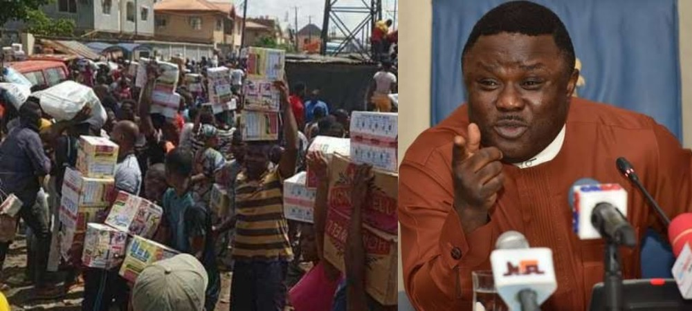 Gov Ayade Orders Police To Carry Out House-To-House Search For Looted Items In Cross River 1