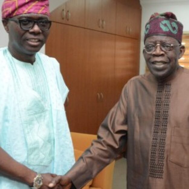I Didn't Go Nowhere, I'm Still Jagaban – Tinubu Declares As He Visits Governor Sanwo-Olu