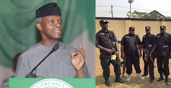 """I'm Very Angry That Police, SARS Are Arresting And Killing Innocent Nigerian Youths"" - VP Osinbajo 1"