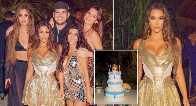 Kim Kardashian Spent $1M On Lavish 40th Birthday Party