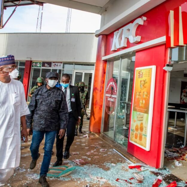 Kwara pledges N500m support to owners of looted stores