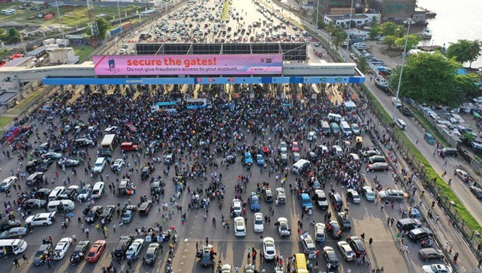 Lagos Government Says It Lost N234 Million Due To Toll Gates' Closure By #EndSARS Protesters 1