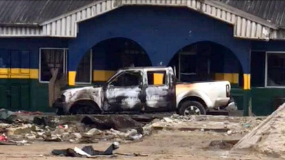 #LekkiMassacre: Full List Of 27 Police Stations Burnt In Lagos