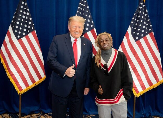 Lil Wayne, Ice Cube declare support for Trump's re-election