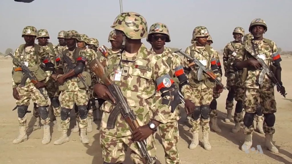 Nigerian Army Denies Shooting At Peaceful Protesters At Lekki-VI toll gate Despite Video Evidence 1