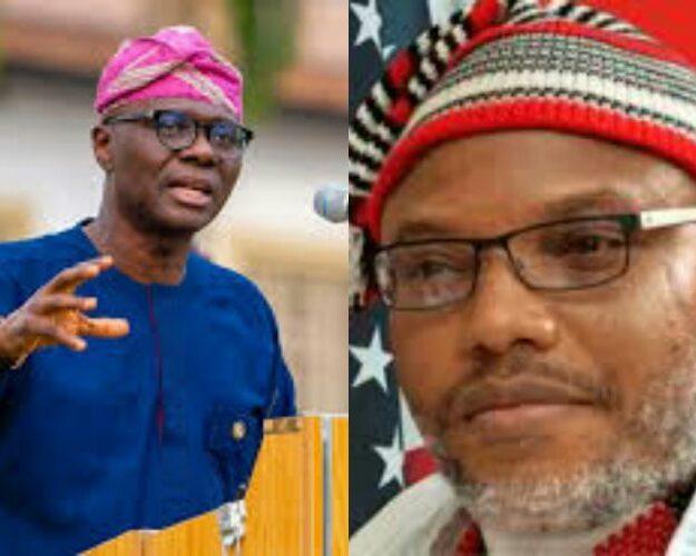 Nnamdi Kanu defends Sanwo-Olu: 'Nigerian Army lied'