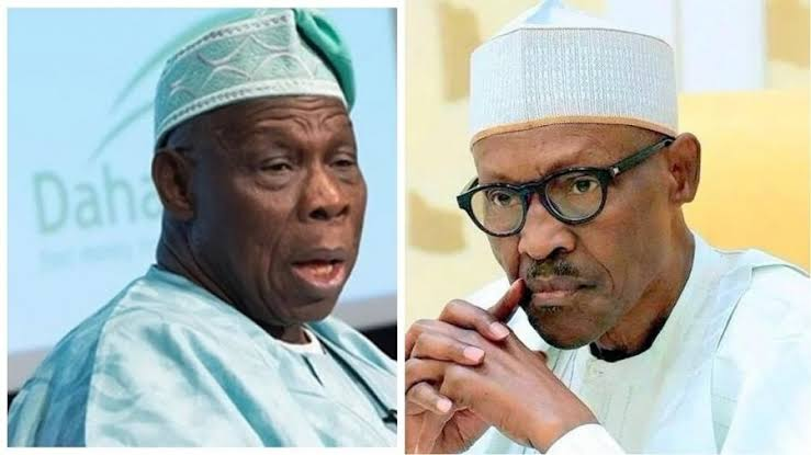 Obasanjo Asks President Buhari To Restrain Military From Shooting #EndSARS Protesters 1