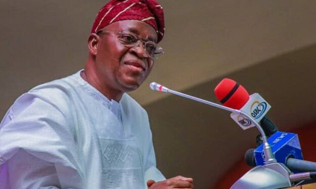 Oyetola hands over recovered loots to owners