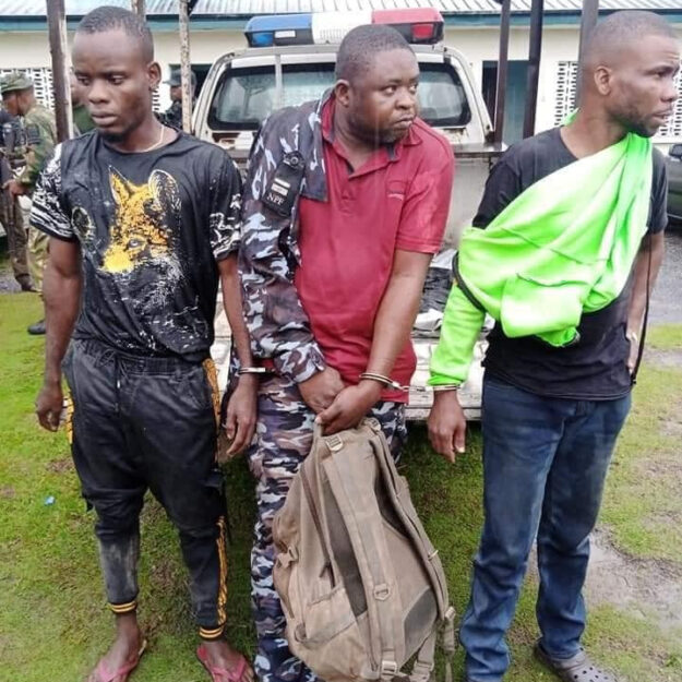 Photos Of Three Notorious Telecom Mast Vandals Who Were Nabbed In Akwa Ibom