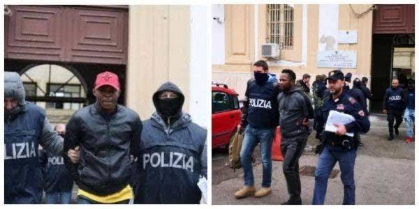 Police Arrests 74 Nigerian Cultists Running Prostitution And Drug Trafficking Rings In Italy