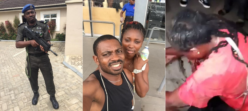 Police Finally Arrest Fleeing Sergeant, Eze Aiwansone For Shooting Girlfriend In Her Mouth 1