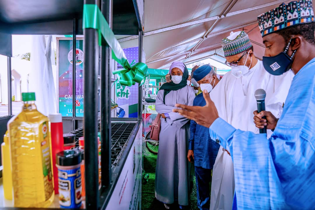 President Buhari Launches Motorcycle, Keke-Napep, Others For Youth Empowerment Scheme [Photos] 9