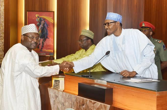 President Buhari Nominates Mahmood Yakubu As INEC Chairman For Second Term 1