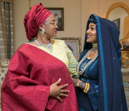 Revealed: Aisha Buhari Jets Out To Dubai For Delivery Of Daughter, Zahra