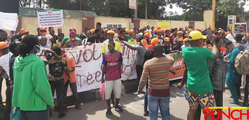 RevolutionNow Protests Hits Abuja, Ibadan On Independence Day Amidst Heavy Security [Photos] 13