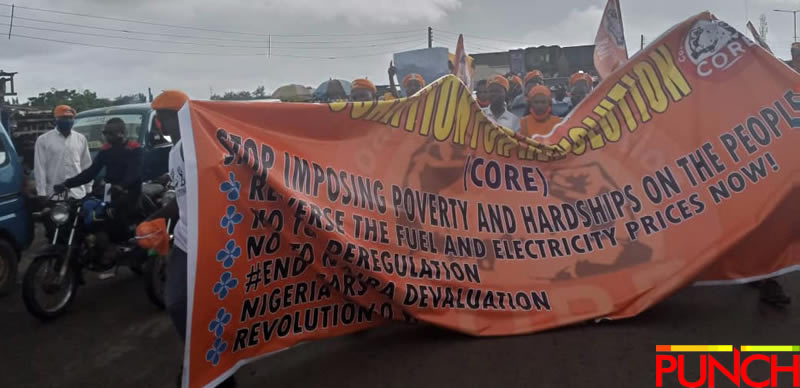 RevolutionNow Protests Hits Abuja, Ibadan On Independence Day Amidst Heavy Security [Photos] 6