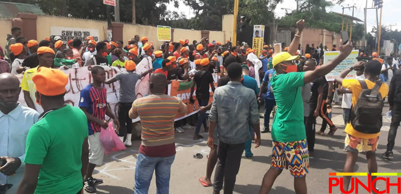 RevolutionNow Protests Hits Abuja, Ibadan On Independence Day Amidst Heavy Security [Photos] 8