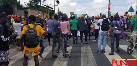 RevolutionNow Protests Hits Abuja, Ibadan On Independence Day Amidst Heavy Security [Photos] 9