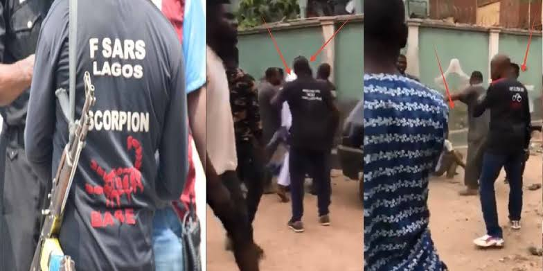 SARS Allegedly Kills Man In Front Of Hotel In Delta, Flees With His Car [VIDEO] 1