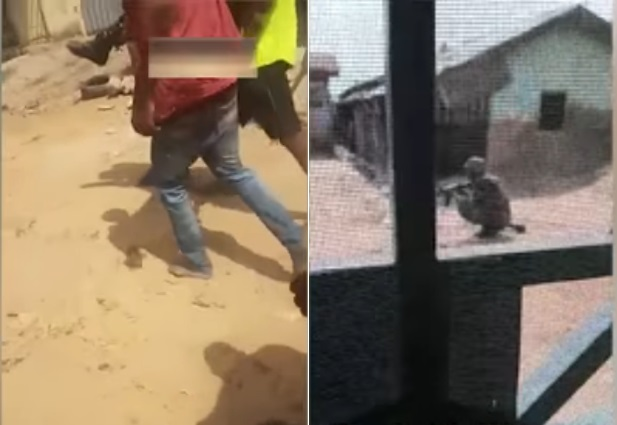 Shocking Moment Soldier Shoots Unarmed Abuja Civilian In Broad Daylight (Video)