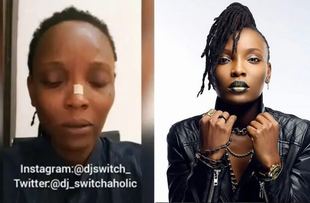 Soldiers took dead bodies away – DJ Switch breaks silence on Lekki shooting