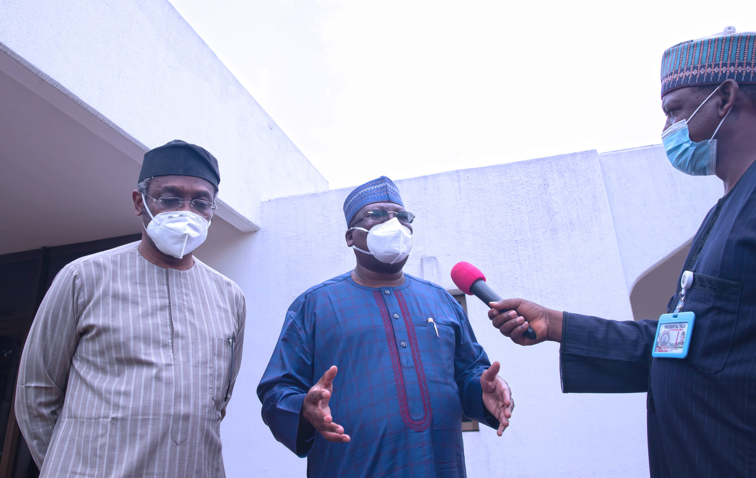 """""""Time Has Come For #EndSARS Protests To Stop"""" - Senate President, Ahmad Lawan 1"""