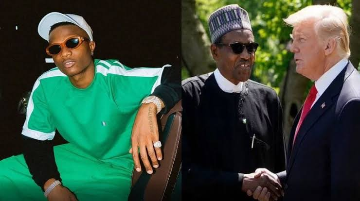 """""""Trump Isn't Your Business, Old Man... Face Your Country!"""" - Wizkid Blast President Buhari 1"""