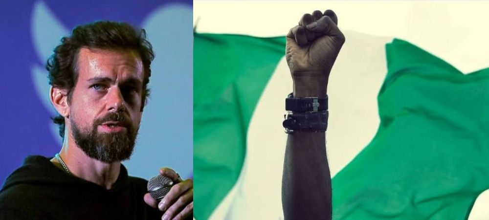 Twitter CEO, Jack Dorsey Creates #EndSARS Emoji For Nigerian Youths' Protesting Against Police Brutality 1