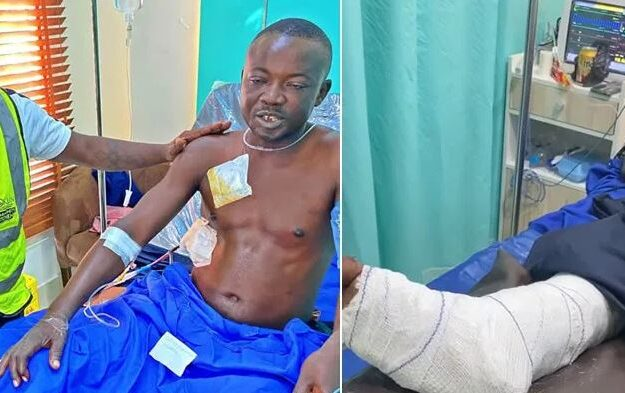 Update: #Lekki Shootings: Survivor Recounts Horrible Experience, Reveals Who Shot Him (Video)