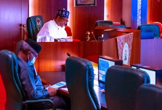 What President Buhari Told Former Heads Of State About #EndSARS Protesters