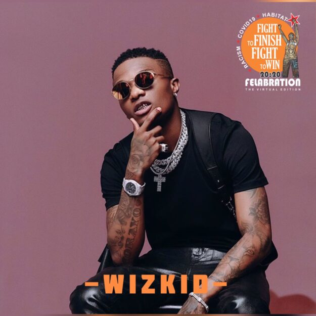 Wizkid reacts to being new face of PUMA