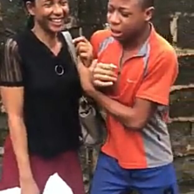 Young Boy Breaks Down In Tears After His Mother Refused To Pay Back the Money He Gave Her (Video)