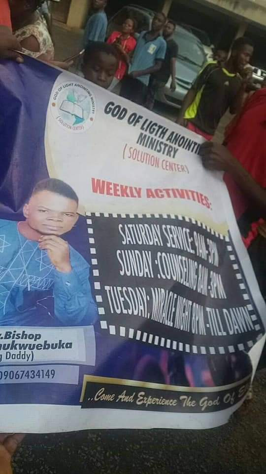 Anambra Pastor Allegedly Caught With Charms, Fetish Items In His Church [Photos/Video] 5
