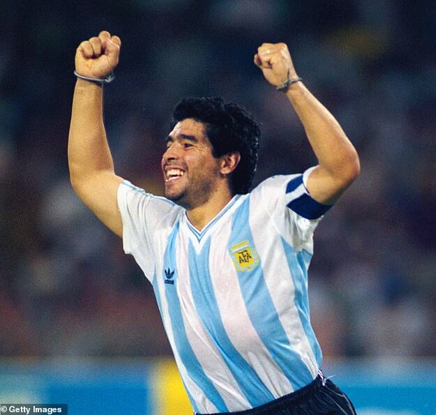 BREAKING! Football Legend, Diego Maradona Is Dead