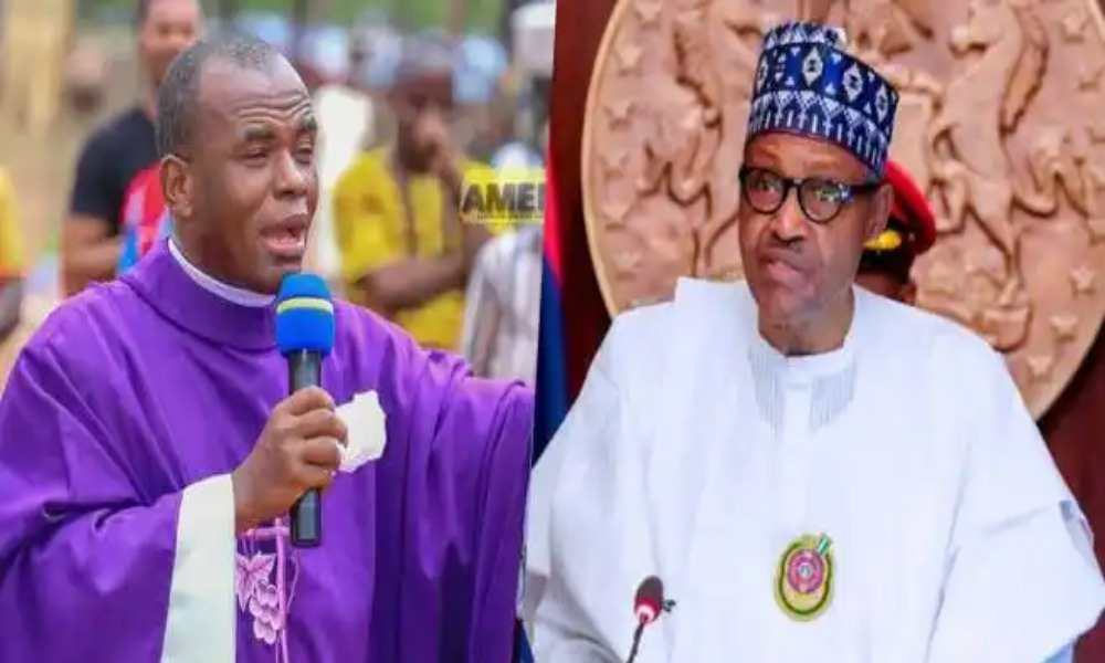 Buhari Surrounded Himself With Criminals, Hooligans Who Tell Him Magnified Lies — Mbaka 1