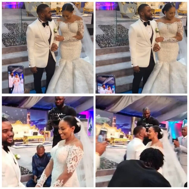Check Out The First Photos And Videos From Popular Actor, Williams Uchemba's Church Wedding