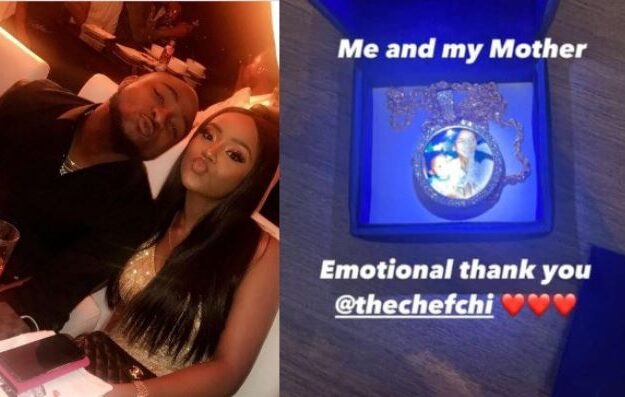 Davido Shows Off The Special Birthday Gift He Got From Chioma Which Made Him 'Emotional' (Photo)