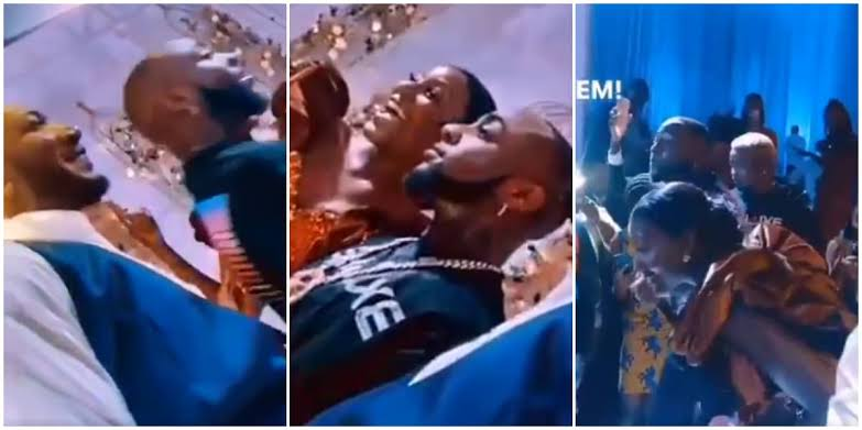 Davido Storms Wedding In Ghana, Leaves Couple Excited As He Performs For Free [Video] 1