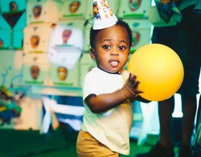 Davido's son is all grown up