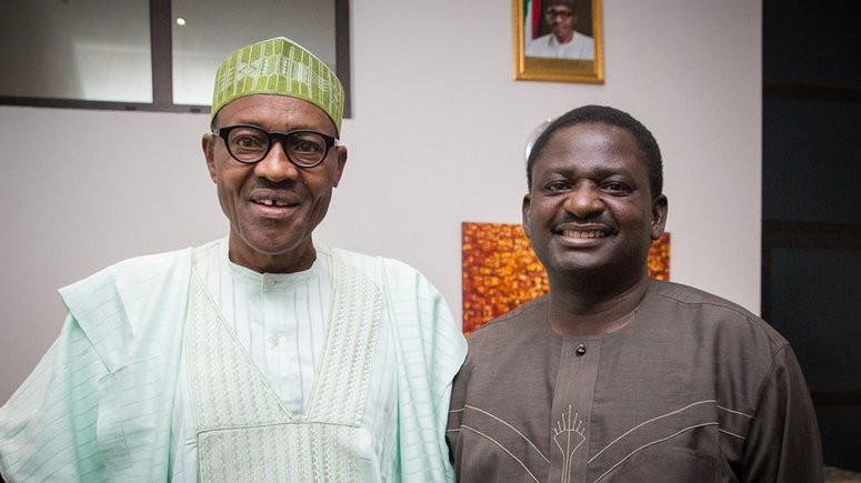 Femi Asesina and Buhari