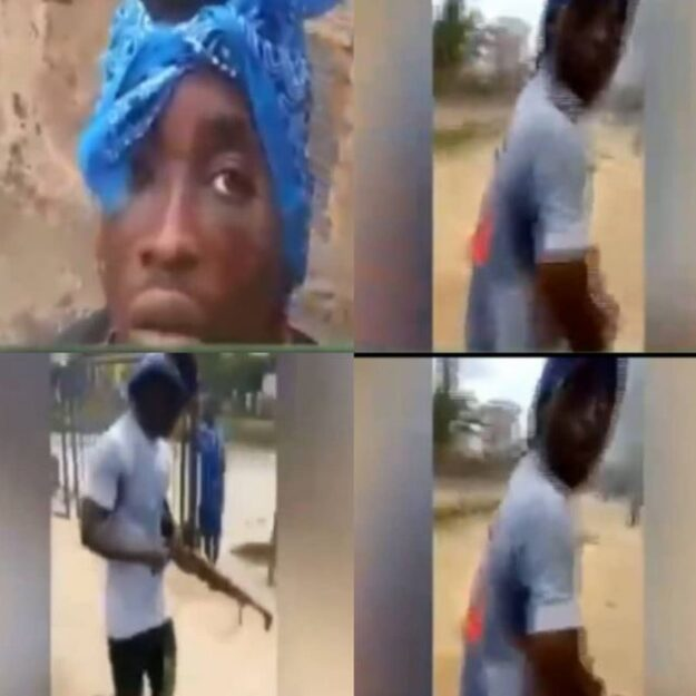 #EndSARS:Thug Who Stole Rifle In Police Station Arrested For Armed Robbery (Video)