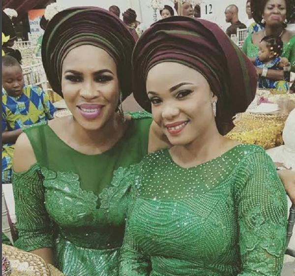 Fathia Balogun consoles Iyabo Ojo on mother's death