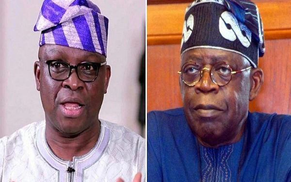 Fayose reveals conspiracy against Tinubu