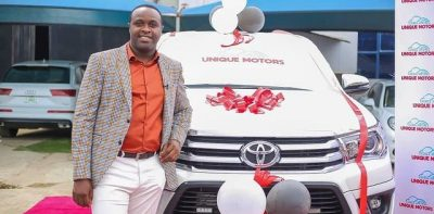 Femi Adebayo secures new deal with Unique Motors